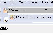 Sun Presentation Minimizer Wizard