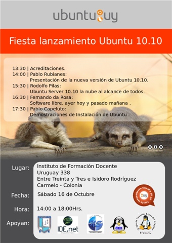 Lanzamiento Ubuntu 10.10