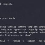 Openstack CLI y autocompletar en bash